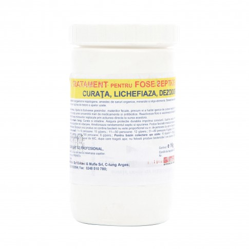Bioactivator (tratament) pentru fose, 1 kg