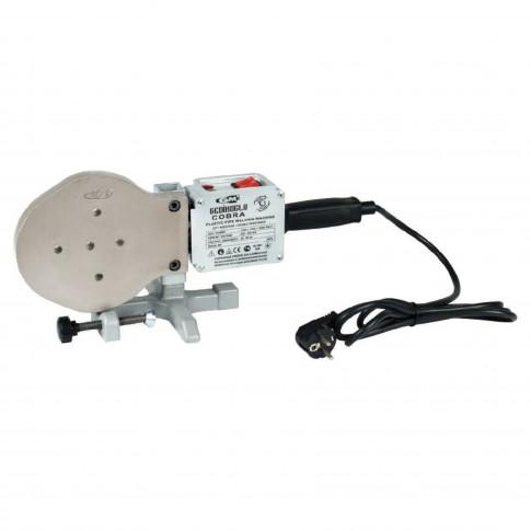 Trusa sudura pentru imbinarea tevilor de PPR, 50-125 mm, 2000 w
