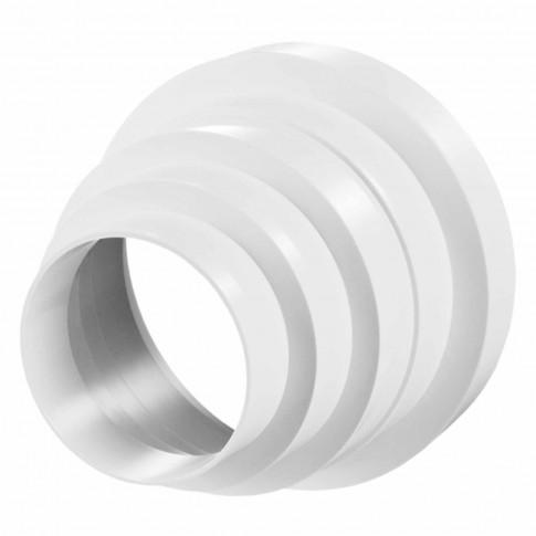 Reductie plastic pentru ventilatie, Vents 310, PVC, D 80, 100, 120, 125, 150 mm