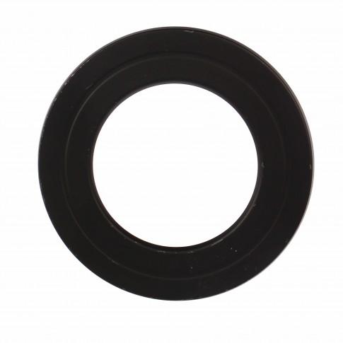 Rozeta burlan, otel, D 150 mm, negru