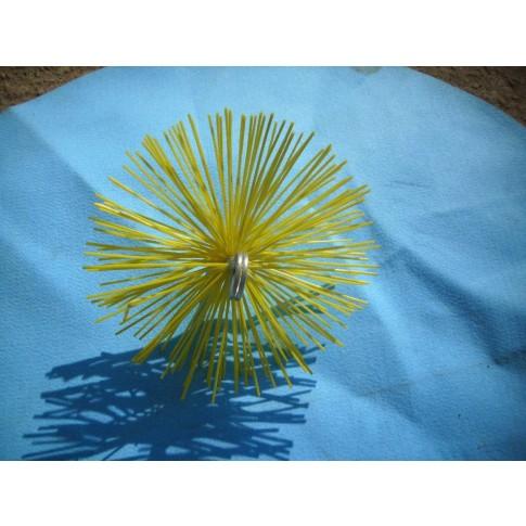 Arici rotund din nylon, curatare cos fum, D 250 mm, 4ESS25C