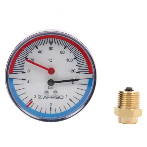 Termomanometru TM80 4 bari, 63341S/S1/I