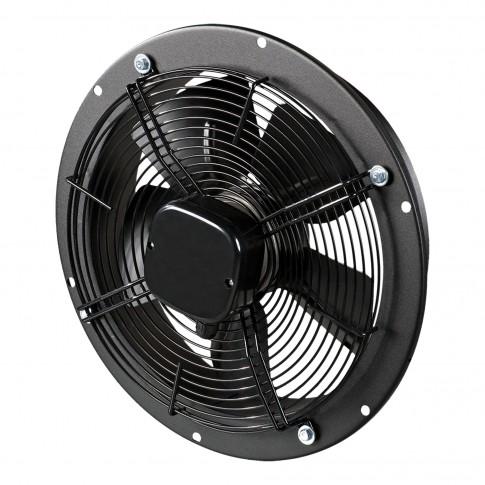 Ventilator axial perete Vents OVK 2E 200, D 200 mm, 55 W, 2300 RPM, 860 mc/h