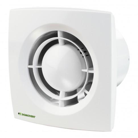 Ventilator axial Domovent 125X1, D 125 mm, 16 W, 2400 RPM, 185 mc/h