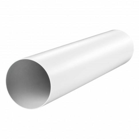 Tub ventilatie, Vents 1010, PVC, D 100 mm,  L 1000 mm