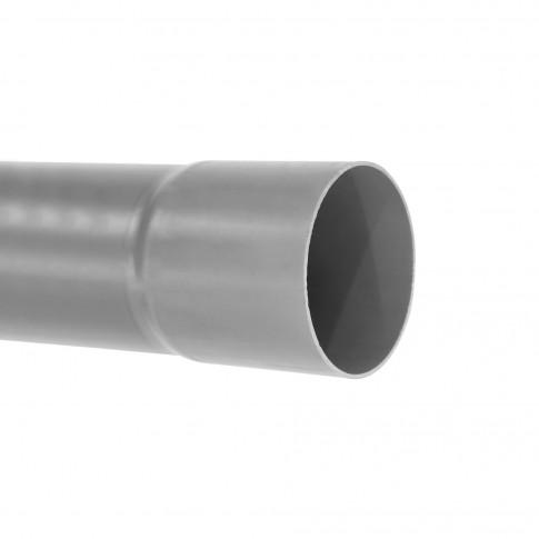 Teava PVC-U pentru canalizare interioara, cu mufa lisa, 75 x 1.8 mm, 4 m