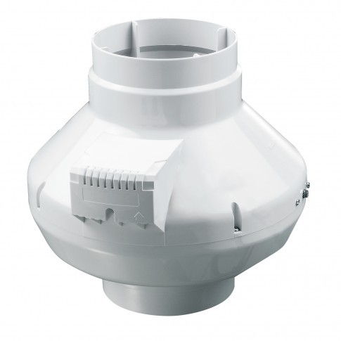 Ventilator centrifugal PVC pentru tubulatura Vents VK125, D 125 mm, 61 W, 2800 RPM, 355 mc/h