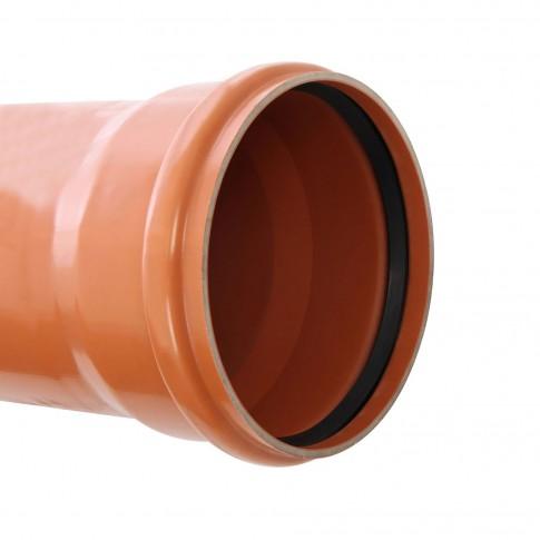 Teava PVC pentru canalizare exterioara, multistrat, SN4, 315 x 7.7 mm, L 1 m