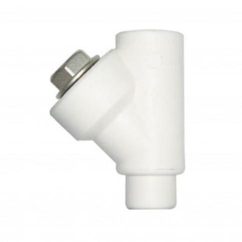 Filtru Y PPR, FI-FE, D 32 mm, alb