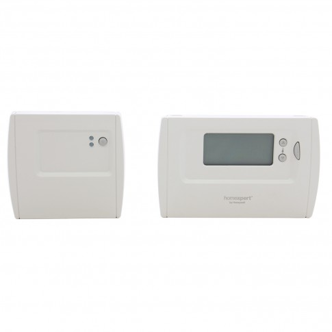 Termostat de ambient pentru centrala, wireless, Honeywell THR872BEE, programabil, digital, 2 x AA, 230 V