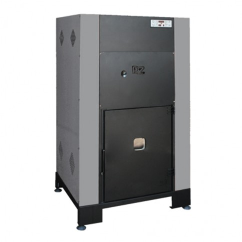 Cazan termic pe peleti Idrobox, cu ardere normala, din otel, 25 kW, 5 trepte de putere