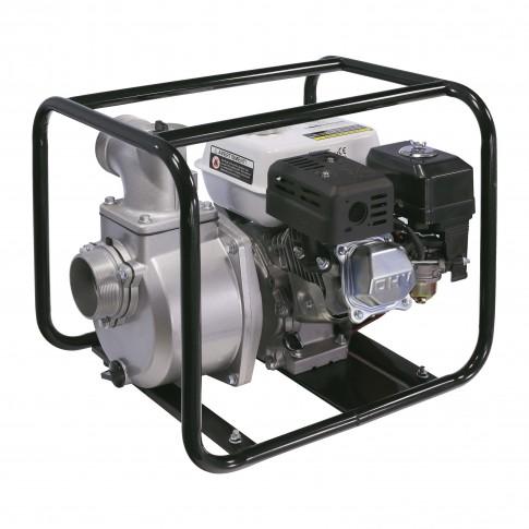 Motopompa de apa semiincarcata, pe benzina, Wassertechnik WTH60, 4.7 kW, 6.5 CP