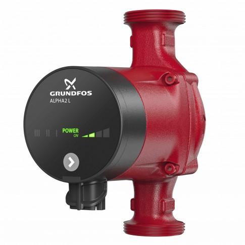 Pompa de circulatie Grundfos Alpha2 L 25-40 180, H max. 4 m, Q max. 2.4 mc/h, PN 10, 230V, 95047562