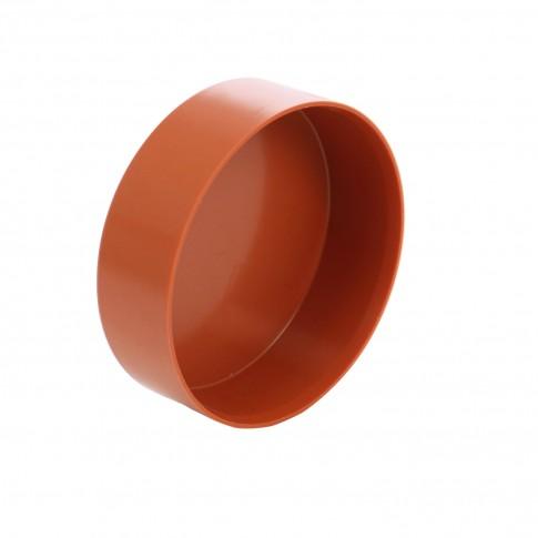 Capac PVC cu inel, D 160 mm