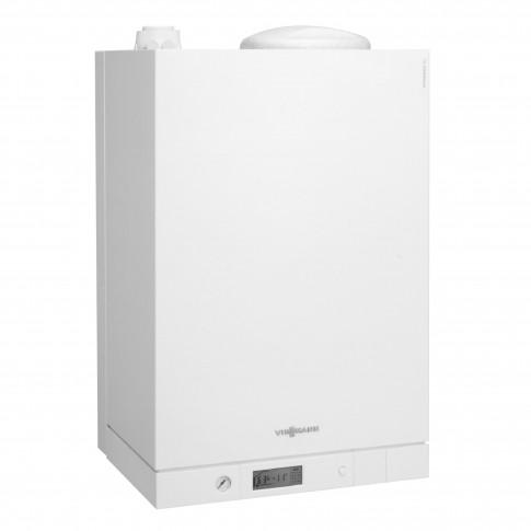Centrala termica pe gaz, cu condensare, Viessmann Vitodens 111 - W, 35 kW + kit evacuare