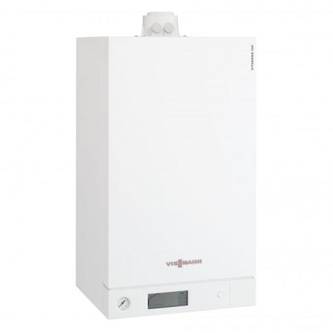 Centrala termica pe gaz, cu condensare, Viessmann Vitodens Combi 100-W, 26 kW + kit evacuare