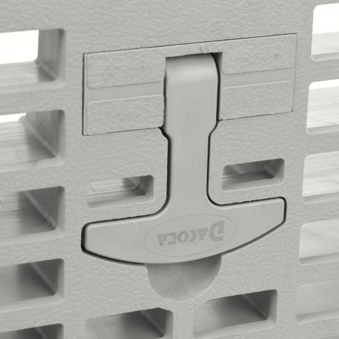 Gratar camin monolitic cu maner, polipropilena, 550 x 550 mm