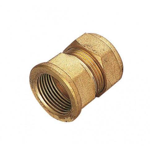 """Racord compresie cu inel, alama, FI, 22 mm x 1"""""""