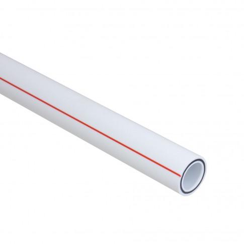 Teava PPR 25, 4 m x 25 mm x 3.5 mm, cu fibra bazaltica, Basalt Therm
