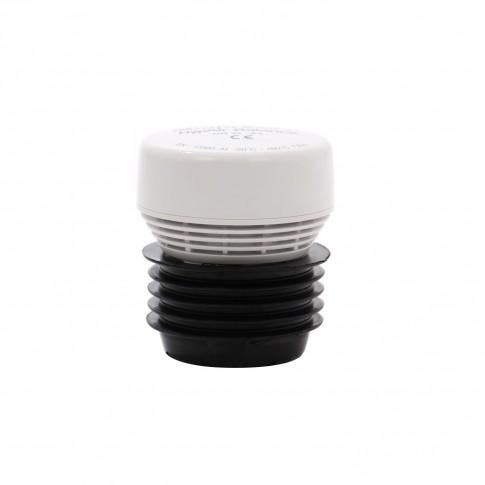 Aerator PVC cu membrana, pentru tevi cu D 32/63 mm