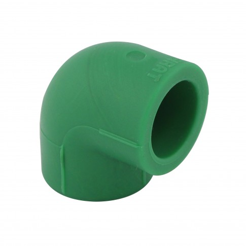 Cot PPR, 20 x 20 mm, verde, 90 grade