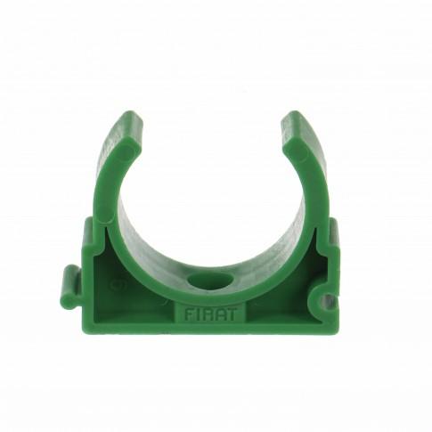 Clema suport teava PPR, D 20 mm, verde