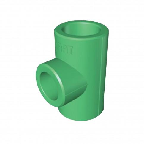 Teu PPR, D 40 x 25 x 40 mm, verde