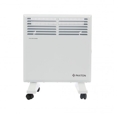 Convector electric Paxton S11-1000, 2 trepte, 1000 W, termostat supraincalzire