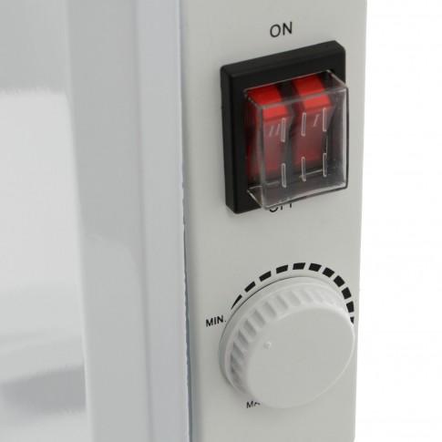 Convector electric Paxton S11-1500, 2 trepte, 1500 W, termostat supraincalzire