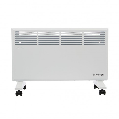 Convector electric Paxton S11-2000, 2 trepte, 2000 W, termostat supraincalzire