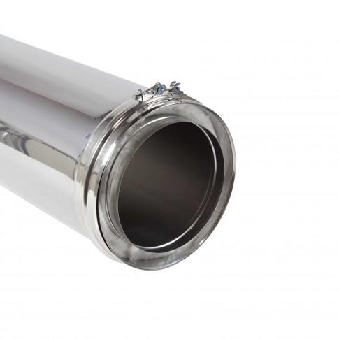 Element tubulatura Schiedel ICS Eco 25, inox, D 200 mm, L 1000 mm