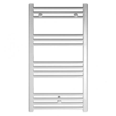 Calorifer baie Ferroli Talia, portprosop, drept, alb, 400 x 960 mm  + accesorii montaj