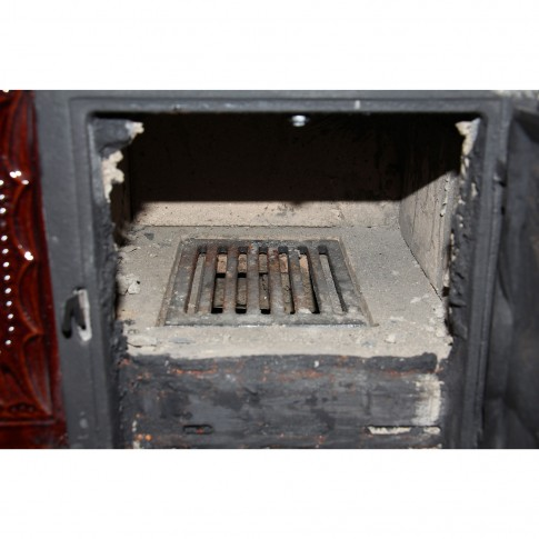 Soba teracota, pe lemne, Aba, tip cizma, varianta dreapta, cu plita si cuptor, 10 kW, 1030 x 840 x 520 mm