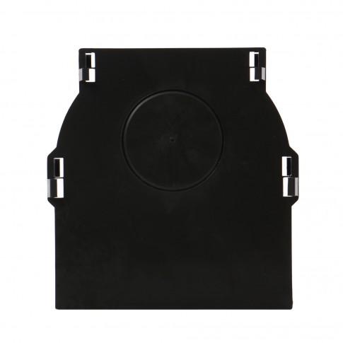 Piesa capat pentru rigola PP Basic DN100 H 120/155 mm (cu iesire)