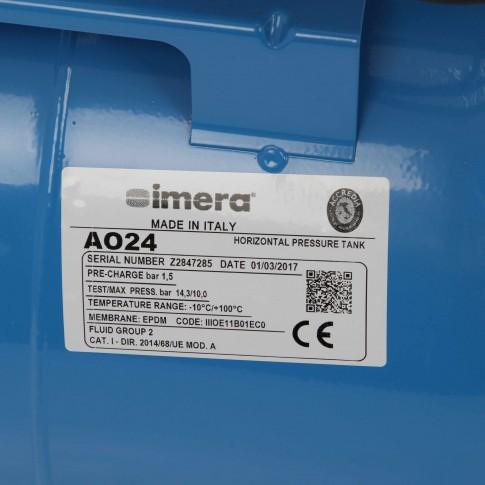 Hidrofor cu pompa electrica centrifuga Grundfos JPA 4-47 + rezervor 24 L + presostat + manometru + furtun flexibil + racord, 850 W