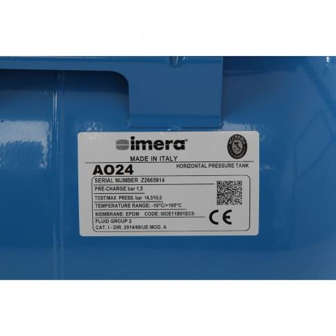 Hidrofor cu pompa electrica centrifuga Grundfos JPA 4-54 + rezervor 24 L + presostat + manometru + furtun flexibil + racord, 1130 W