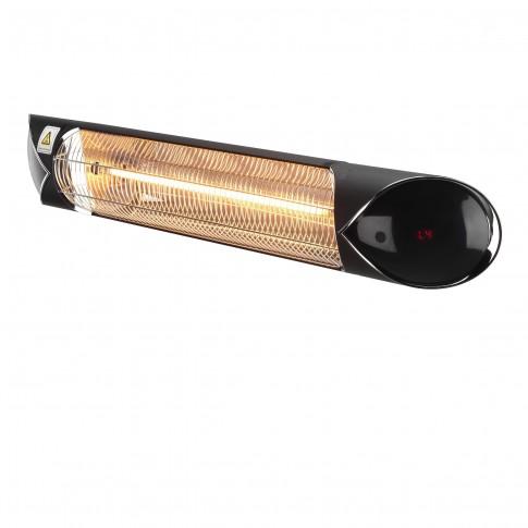 Incalzitor radiant cu carbon Delex IRC 2000, 4 trepte, 2000 W, 900 x 130 x 89.5 mm, cu telecomanda