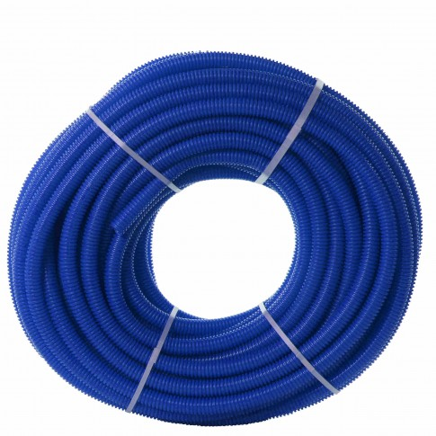 Tub protectie 25 mm pentru teava PEX D 16 mm, albastru
