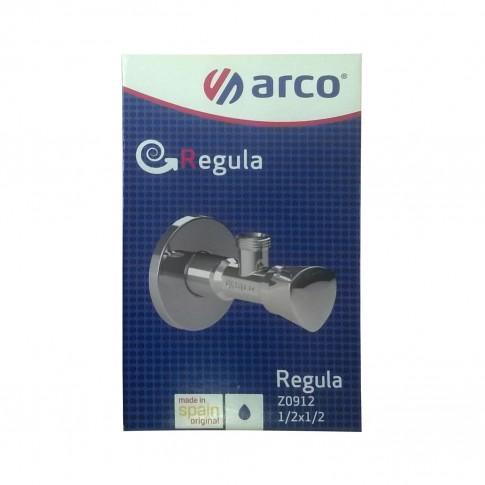 "Robinet coltar cu ventil incorporat, Arco Regula, Z0912, D 1/2"" x 1/2"""
