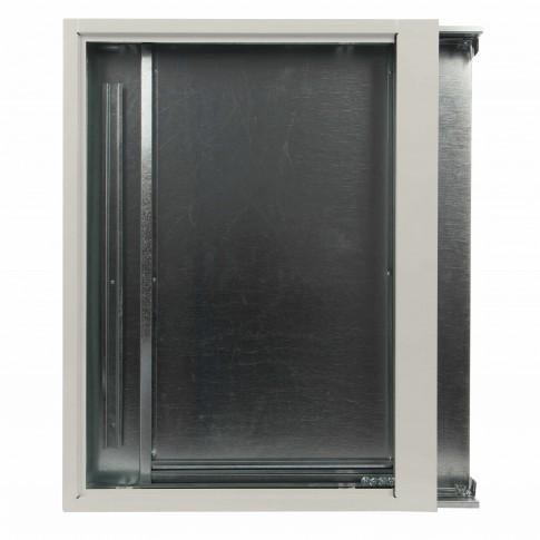 Caseta metalica pentru colectori, 800 x 550 x 110 mm