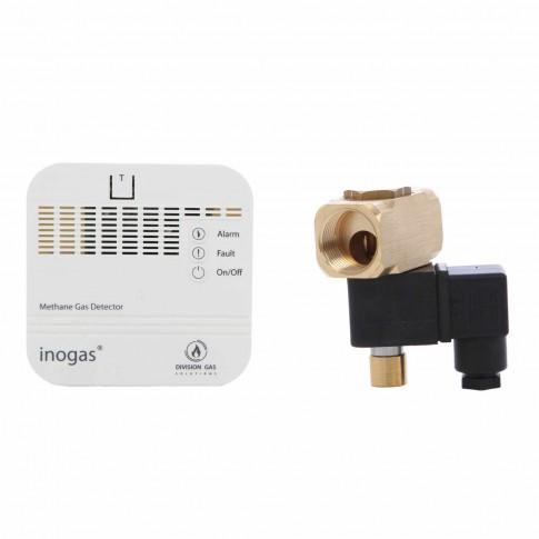 """Kit senzor + electrovalva gaz Homplex, 230 V, D 3/4"""""""