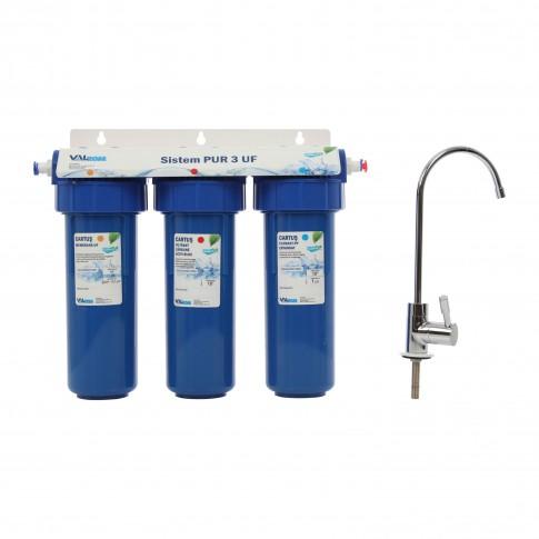 """Sistem ultrafiltrare PUR 3 UF AquaPur 10"""""""