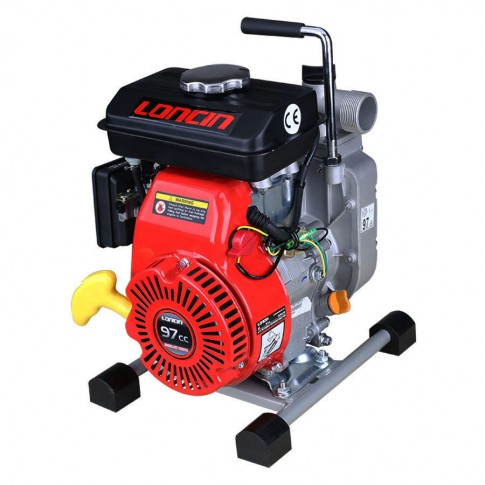 "Motopompa de apa, pe benzina, Loncin 1.5"", motor in 4 timpi, 1.35 kw"