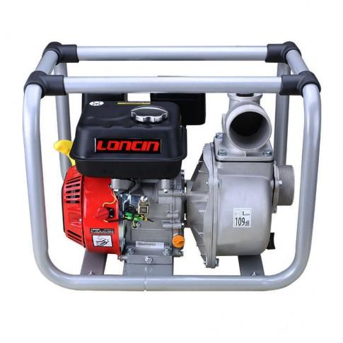 "Motopompa de apa, pe benzina, Loncin 3"", 6.5 CP, motor in 4 timpi, 4.8 kW"