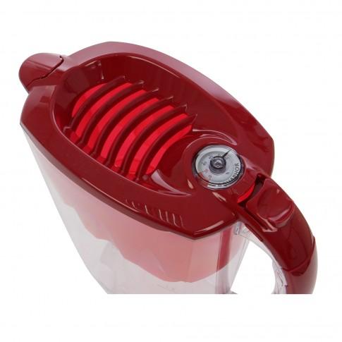 Cana filtrare apa potabila Aquaphor Amethyst, capac rosu, 2.8 l, B 25