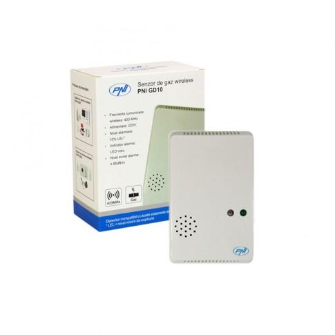 Senzor de gaz PNI, wireless, GD10
