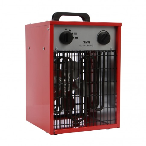 Aeroterma electrica Paxton EH3-220S, 3 kW, 220 -240 V