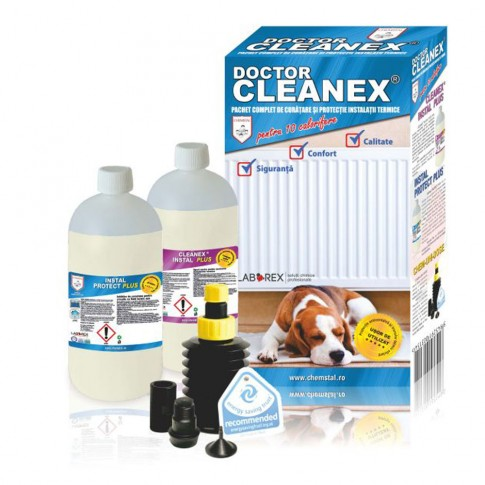Pachet curatare - protectie instalatii termice Doctor Cleanex