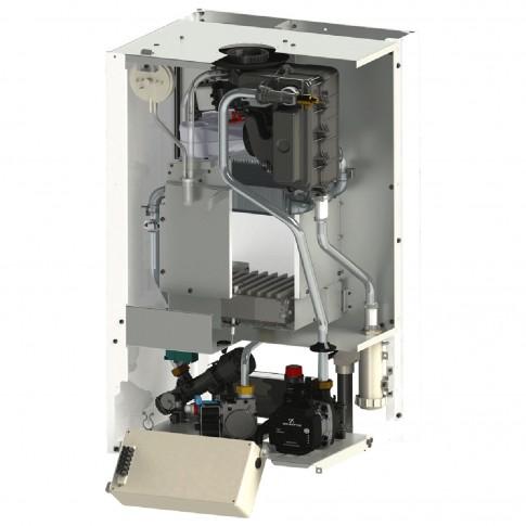 Centrala termica pe gaz, cu condensare, Motan Green 28 C34GV28-P, 28 kW, fara kit evacuare