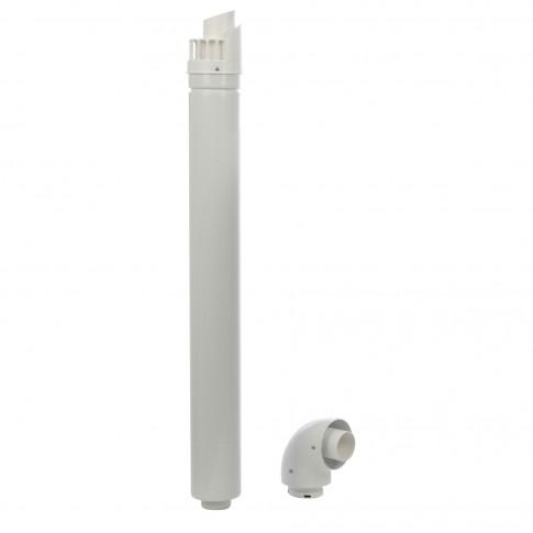Kit evacuare condensare centrala termica Ariston, D 60/100 mm, L 1000 mm